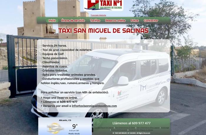 Web Taxista