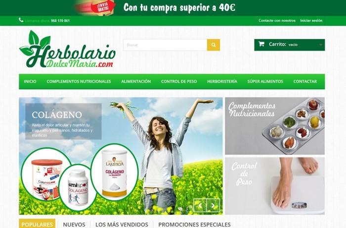 Tienda online Herbolarío