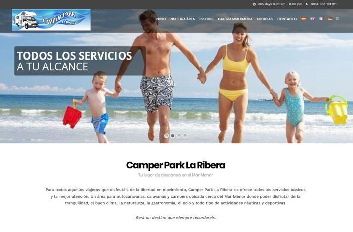 Web Corporativa Camper Park