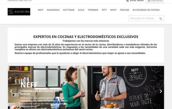 Tienda online Cocinas